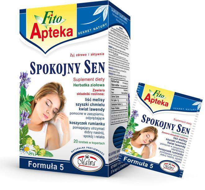Herbaty Funkcjonalne Fito Apteka - SLEEP WELL