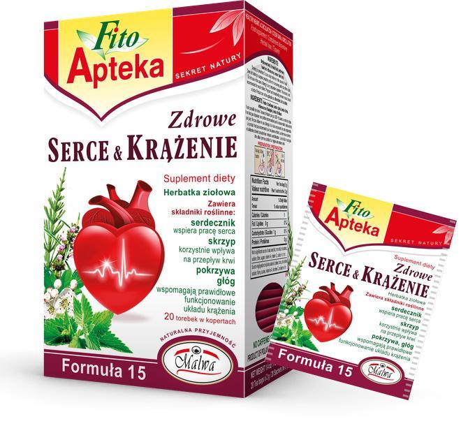Herbaty Funkcjonalne Fito Apteka - Zdrowe Serce i Krążenie