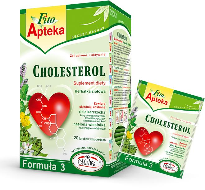 Herbal tea - CHOLESTEROL