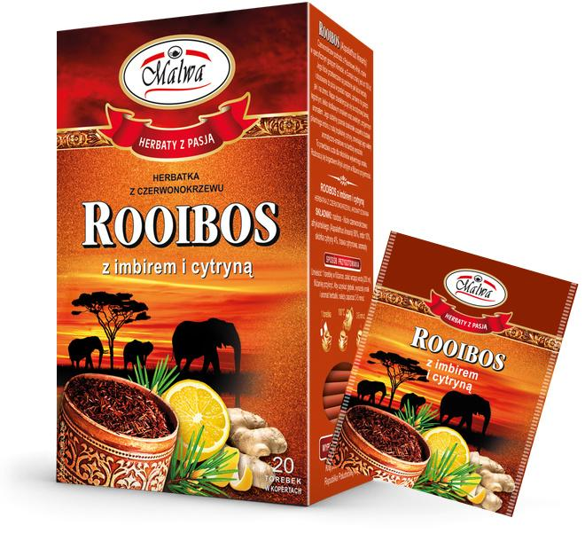Rooibos with Ginger and Lemon