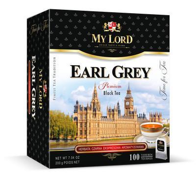 Herbata Czarna Ekspresowa - Earl Grey