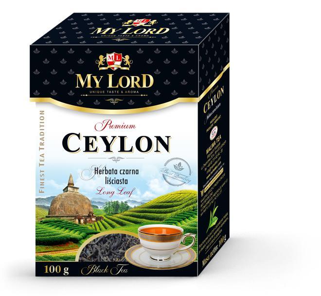 Leaf Black Tea My Lord - Ceylon