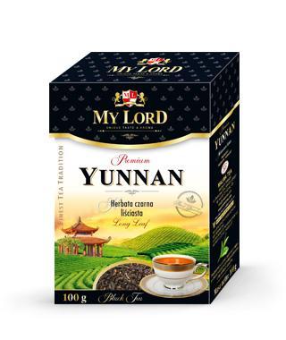Herbata Czarna Liściasta - Yunnan