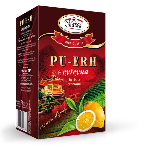 Pu-erh tea - PU-ERH & lemon