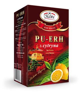 Herbata Czerwona PU-ERH - PU-ERH & cytryna