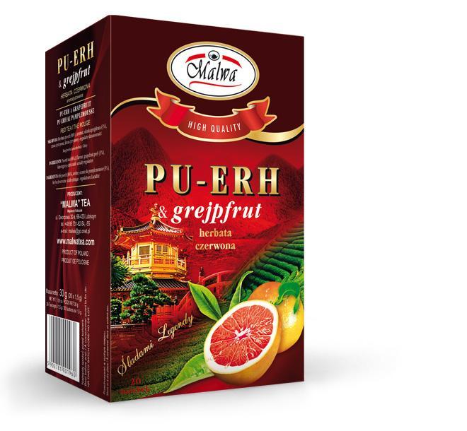 PU-ERH & grapefruit
