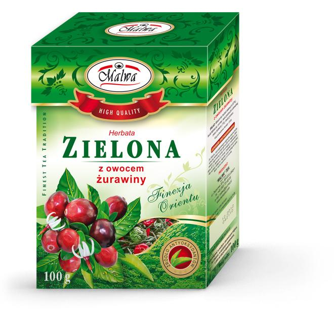 Green Tea with Cranberry