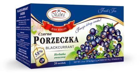 Herbata Owocowa - Czarna Porzeczka