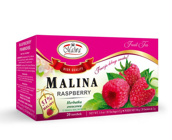Fruit tea - Raspberry tea