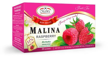 Herbata Owocowa - Malina