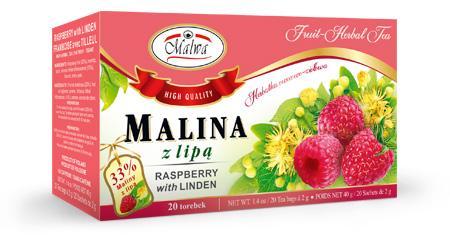 Herbata Owocowa - Malina z Aronią