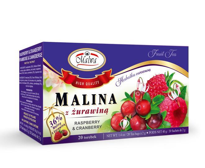 Fruit tea - Raspberry & Cranberry