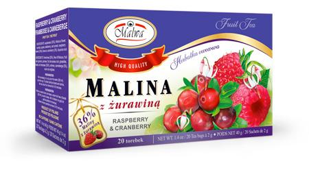 Herbata Owocowa - Malina z Żurawiną