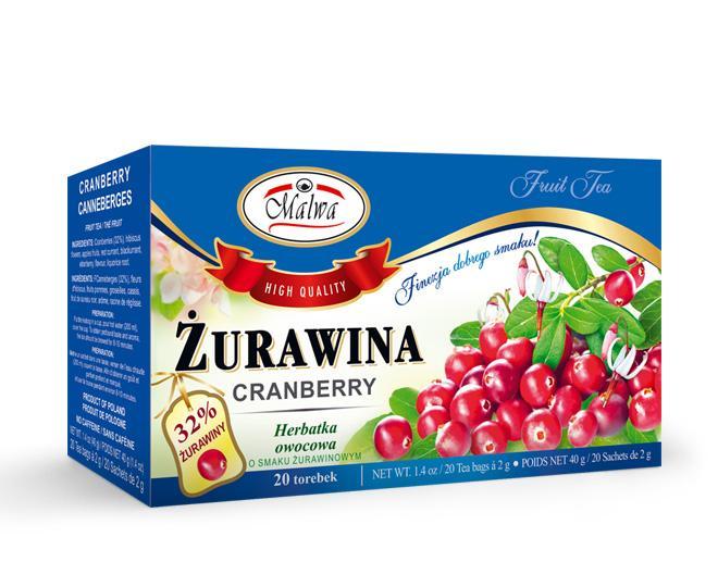 Fruit tea - Cranberry tea