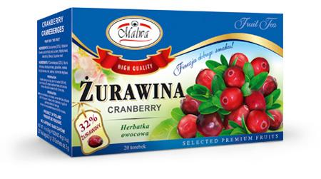 Fruit tea - Żurawina
