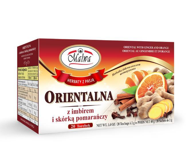 Herbal-fruit tea - ORIENTAL