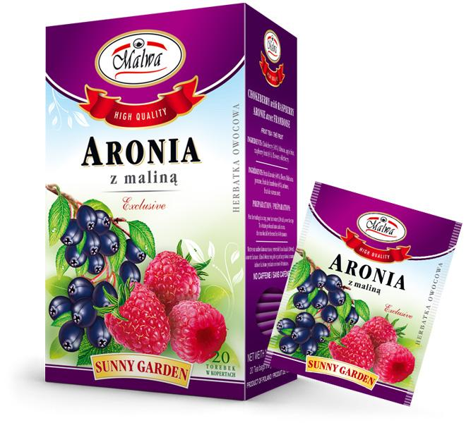 Fruit tea Sunny Garden - Chokeberry with Raspberry