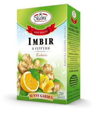 Sunnu Garden - Imbir z cytryną