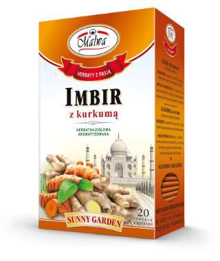 Sunnu Garden - Imbir z kurkumą
