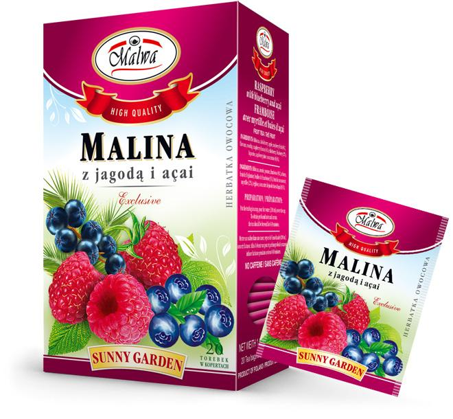 Malwa Tea - Raspberry with Bilberry and Açai