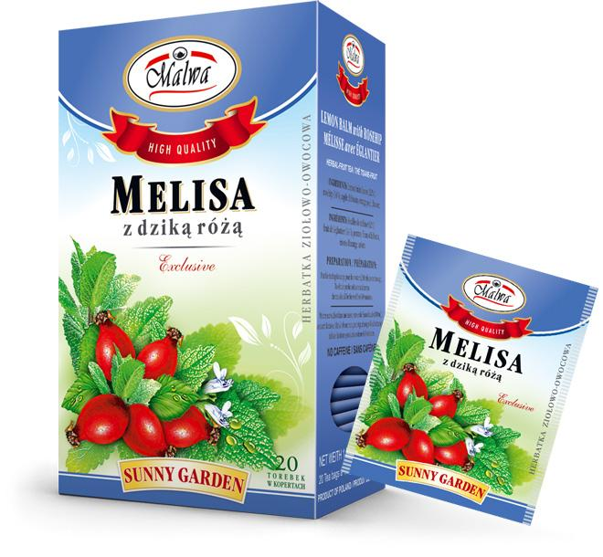 Sunny Garden - Melissa with Rosehip