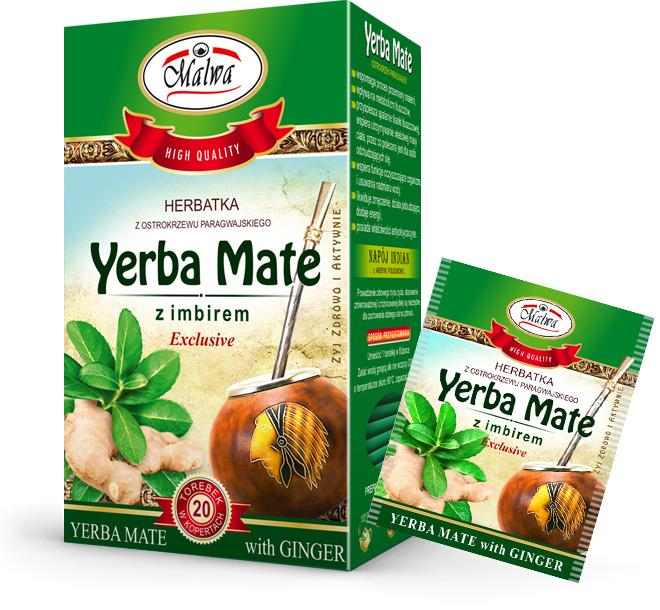 Yerba Mate with Ginger