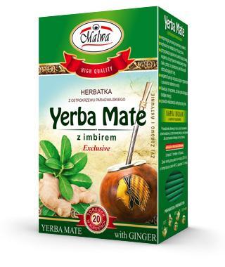 Herbata Yerba Mate z Imbirem