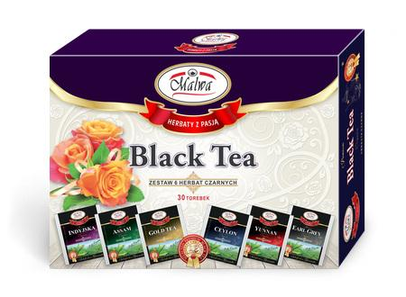 Zestaw Okazjonalny - Bombonierka Black Tea