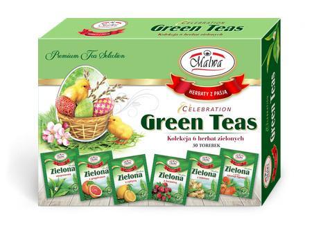 Zestaw Okazjonalny - Celebration Green teas