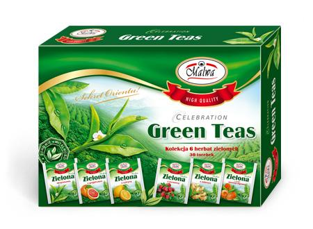 Bombonierka Herbat Zielonych - Celebration Green Teas