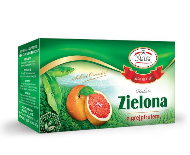 Green Tea with Grapefruit