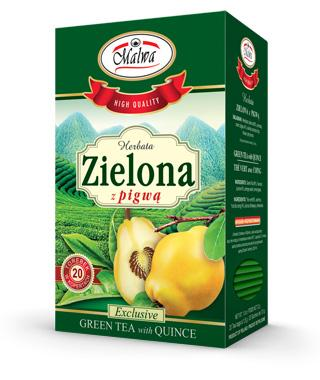 Green tea with Quince
