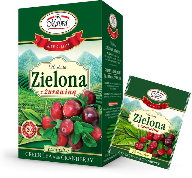 Green Tea & Cranberry
