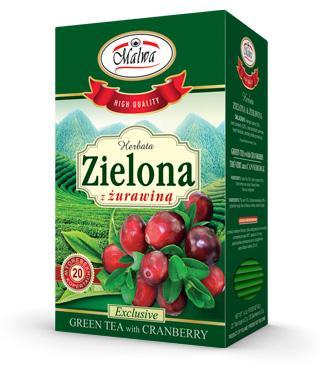 Green tea & Cranberry