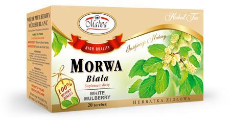 Herbata Ziołowa - Morwa Biała