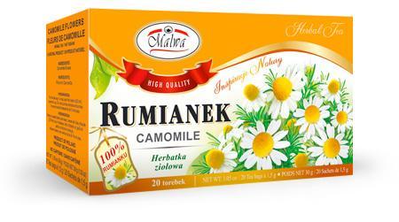 Herbata Ziołowa - Rumianek