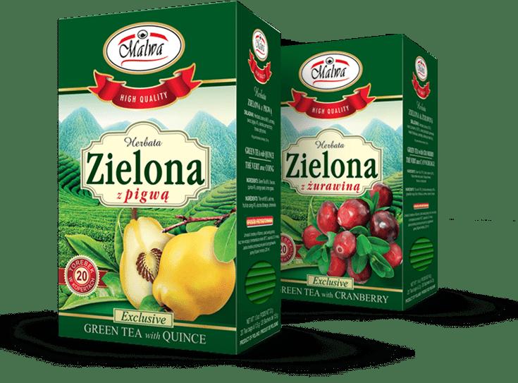 Malwa Tea Herbaty Zielone