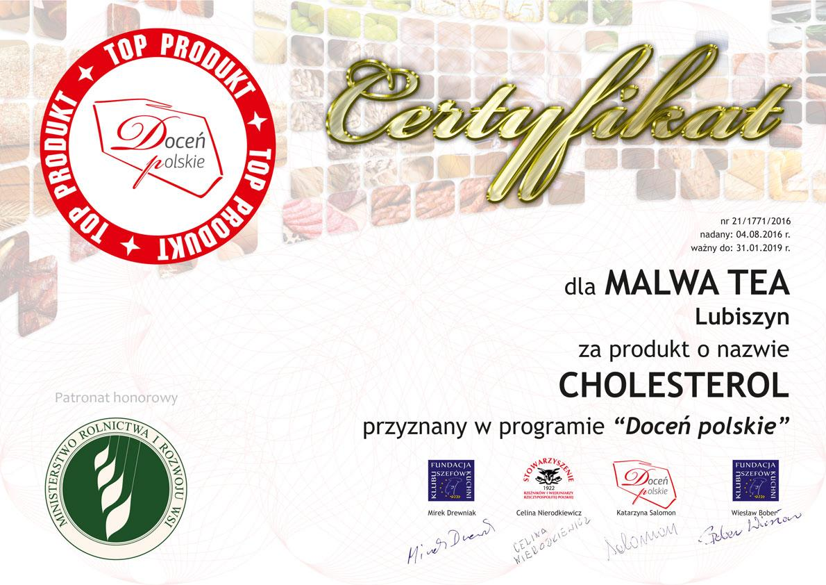 Malwa Tea - Top Produkt Cholesterol
